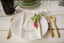 tablescapes & table settings / by Jessica Cahoon / fort & field