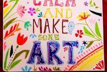 Art class ideas / by Jenean Fonseca