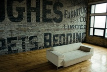 Walls / Walls, structural texture and hanging decor / by Gabe Watkins