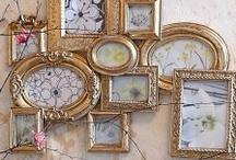Photo Walls...Frame Arrangements / by Sharla Miller