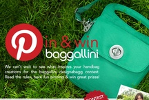 baggallini designabagg contest / one-of-a-kind baggallini designabagg pin & win contest! We're so happy you've decided to join us and design your own baggallini handbag! We'd like to welcome you to the design team…watch our video pinned below plus what we've pinned for our spring 2013 designabagg inspiration board is just a sampling of what you can enter. The design that represents our brand and is most creative wins, the sky's the limit! Read the rules, have fun pinning & win great prizes! visit baggallini-sweepstakes.com / by baggallini