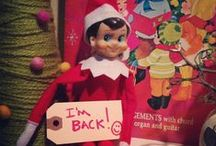 Granny's little Elf on the shelf / Ideas for Granny's little elf. / by Steph Young