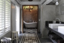 bathrooms / could spend more time in those :-) / by Valerie Anglade - 2B&Co.