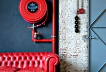 red interiors & Co. / by Valerie Anglade - 2B&Co.