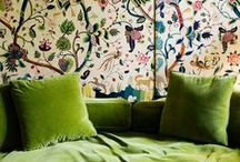 green interiors & Co. / by Valerie Anglade - 2B&Co.