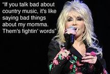 Dolly Parton Is the Best! / Our favorite quotes from country's most beloved, and top-heavy, star. / by Zimbio