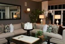 Living Room Decor / by Brandi Montgomery