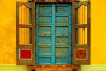 Doors that intrigue / by Joanne Crawford