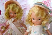 Dollies and their Doll Friends / by Linda Fabrizius
