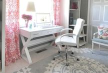 Home Office / by Ashle'Anne Potter