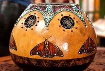 Oh my Gourd! / Gourd art / by Maggie Siewers