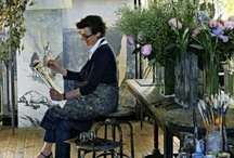 Artist at Work, Studio Images  / by Mary Oklahoma Thoma