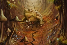 TOADLY / Toads, frogs, newts, salamanders / by Mary Oklahoma Thoma