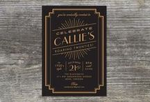 Party Invitations & Decor / Invitations, decor and party inspiration. / by Happy Everything Design
