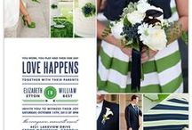 Wedding Invitations & Paperie / All things weddings. Invitations, inspiration and more! / by Happy Everything Design