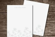 Personal Stationery & Gifts / Stationery, Journals, Thank you notes, Notebooks and more! / by Happy Everything Design