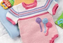 CROCHET KRAZY~Baby & Toddler Onesies,Long Pants,Sets / by Donna Medley