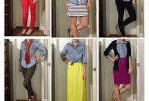 My Small Closet Options / by Hannah Joyce