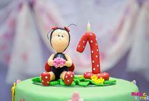Natalia's 1st birthday party / by Daniela Cocostarc