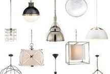 LIGHTING | PENDANTS / by Mari | MG Design