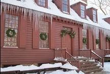 Christmas in Colonial Williamsburg, VA / by TwoNerdyHistoryGirls ***