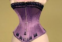 What Lies Beneath: Corsets & Stays from the Past / by TwoNerdyHistoryGirls ***