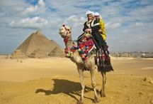 Exotic North Africa / Who hasn't dreamt of going to Egypt? Filled with iconic landmarks and remarkable landscapes, it has a rich history and strong culture with some of the friendliest people on earth. Historic monuments, great pyramids, breathtaking rivers and lakes, stunning architecture & a vibrant culture- the magical land of Egypt has it all! / by The Planet D