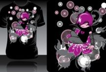 Shirt Design Examples / by Amanda Penney