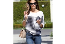 Stripes in the City / by style-passport
