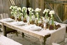 TABLESCAPES / Table decorations / by What's Gaby Cooking