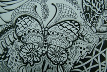 my art/ zentangle / some of my pieces and zentangle pieces from other incredible artist / by Pam Parise
