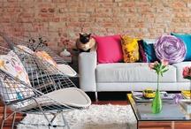 HOME | Diseño interior / Éstas son unas ideas de cómo quiero decorar mi casa. Son muchas ideas y muy diferentes. Pero cada una tiene un toque de mi personalidad. / by Andrea del Valle [Plan D]