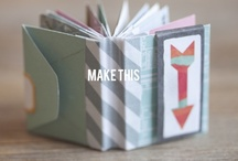 Make It   Books / by So Many Little Things