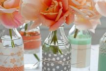 Mint, Peach, and Gold Party / I am planning a party for my sister's birthday with a few close girlfriends. I want to incorporate mint, peach, and gold themes. Keeping it classy. / by Amy Carr