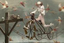 the circus came to town / #circus #vintagecircus  / by Luciana Telesca