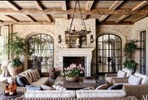 Inviting Outdoor Living Spaces / Porches, Patios, Verandas / by T. Almon