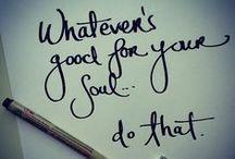 Words of wisdom / by Tracy Barnett