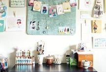 craft room  / by Ashley Whetman