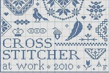 Cross stitch / by Charlynn Muehle