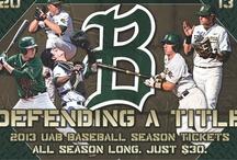 Baseball & Softball / by UAB Athletics