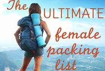 Backpacking Tips / Tips for Backpacking / by Kathleen Masselink