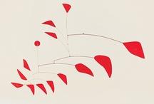 """Calder / Various works by Alexander """"Sandy"""" Calder / by Tiddleywink Vintage"""