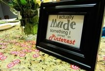 """Pinterest Craft Club / Group members-Please pin anything that you think would be a good project for our """"Pinterest Craft Club.""""   Pin anything and everything you like, whether you know how to make it or not! We will figure it out!  / by Lynn Weinberg"""