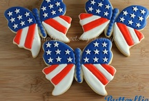 Patriotic Sweets / A collaborative board featuring sweets decorated to for patriotic celebrations like the 4th of July and Memorial Day. / by Janine (sugarkissed.net)