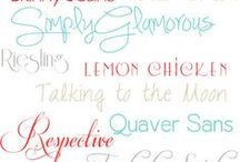 ~ Fonts ~ / by Jodie Valenti