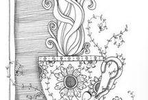 Doodles, fonts, & lettering / by Sharon Skindell