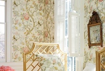 wallcoverings / by Marianne Simon Design