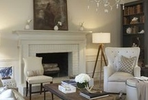 fireplace + mantel / by Marianne Simon Design