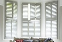 curtains & blinds / Idea's for the windows in the home / by Emma Collins