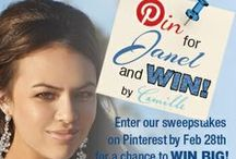 WANNA WIN? / Sign Up for our Sweepstakes, WIN BIG PRIZES! / by Camille La Vie